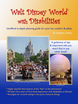 walt disney world with disabilities book cover