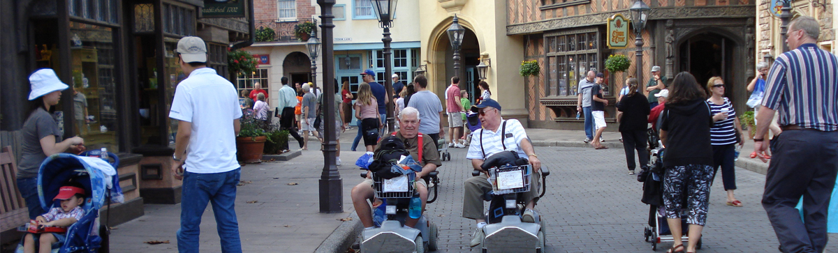 Epcot-wheelchair-France-Disney-World