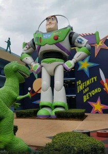 Buzz Lightyear all-star movies resort