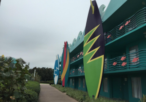 surfing area disney's all-star sports