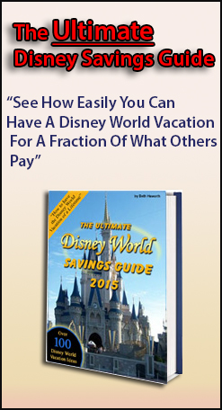 Walt Disney World saving money