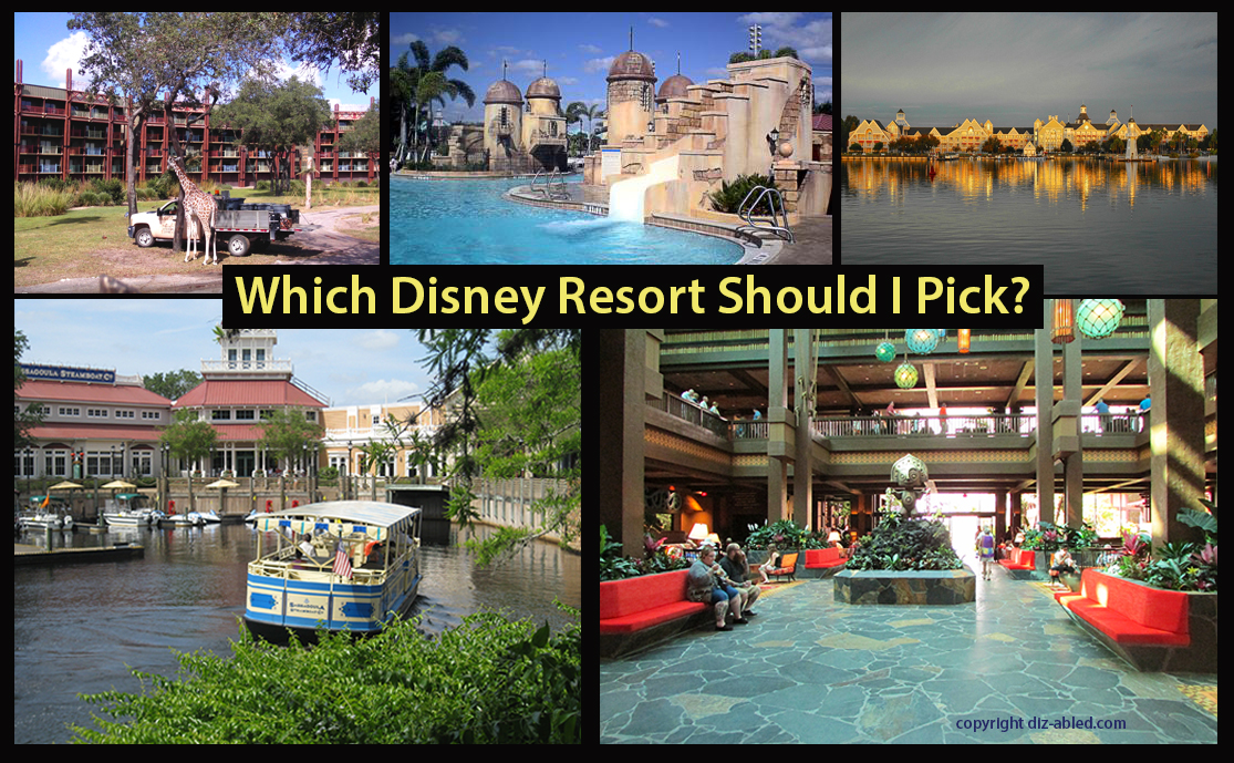 How to choose the right disney resort for you walt for Hotels disney