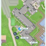 Dog walking map for Disney's Yacht Club Resort