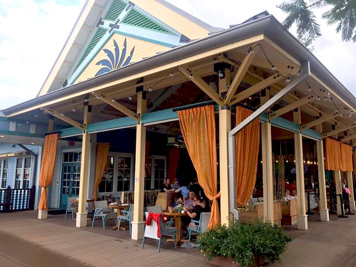 Banana Cabana at Disney's Caribbean Beach Resort