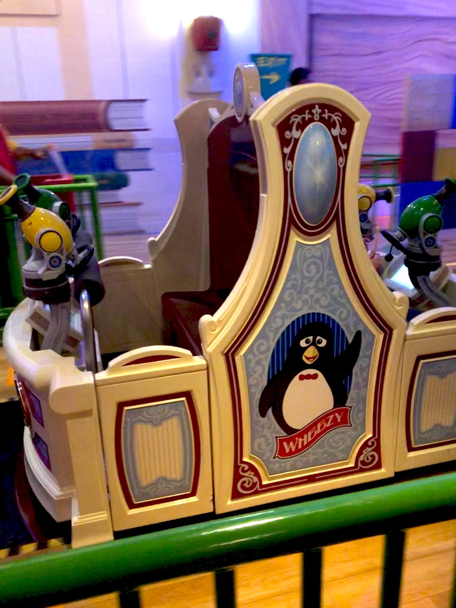 Toy Story Mania Ride Car