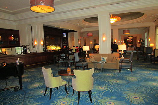Peacock Lounge Waldorf Astoria Orlando