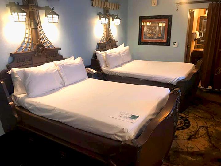 Pirate Room at Disney's Caribbean Beach Resort