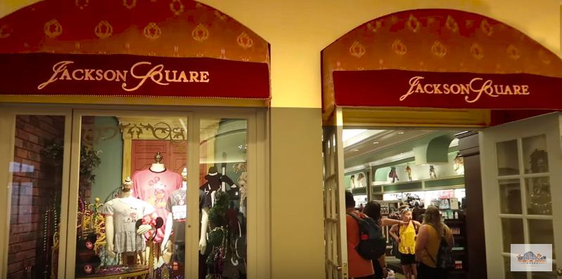 Disney's Port Orleans French Quarter Jackson Square Store