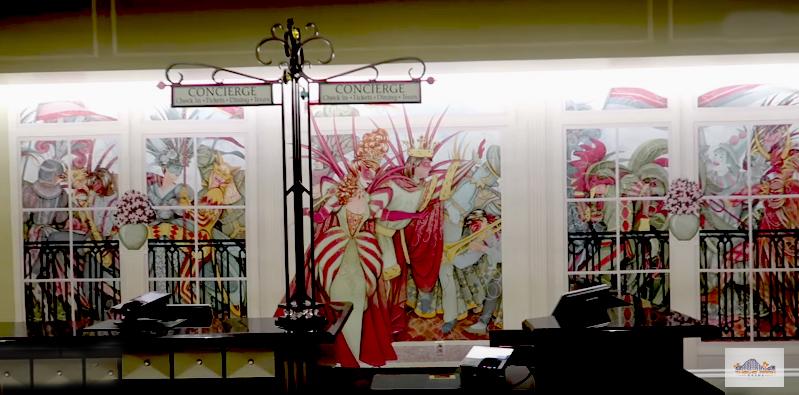 Port Orleans French Quarter Lobby Concierge