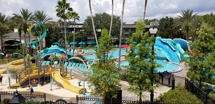 Pool at Port Orleans French Quarter