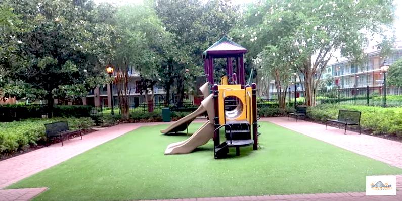 Port Orleans French Quarter Playground