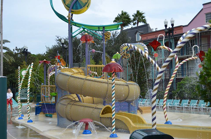 Water Playground at Port Orleans French Quarter