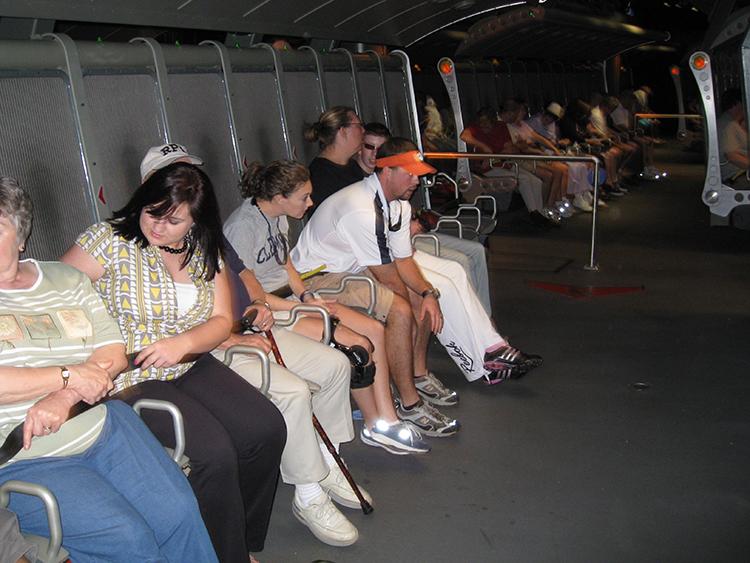 Soarin seats