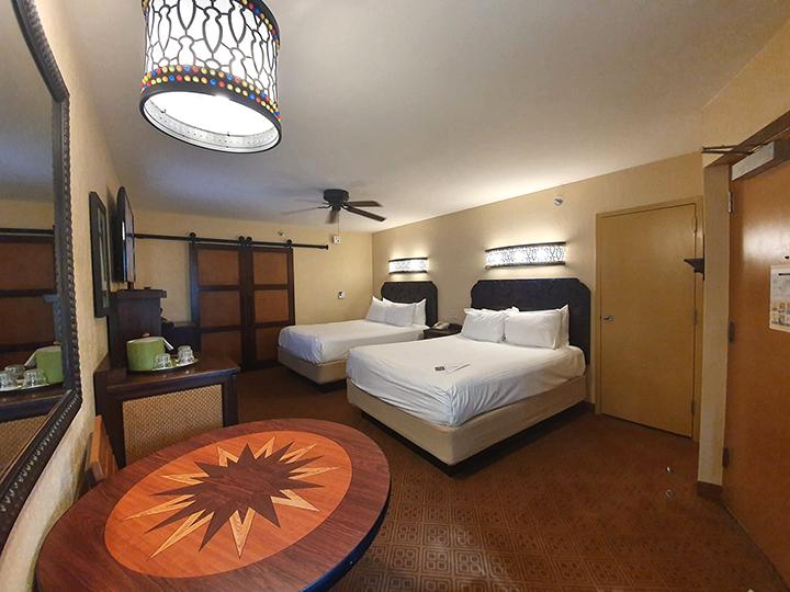 Room Wide Shot at Caribbean Beach Resort