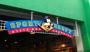 Goofy's gift shop disney's all-star sports - edit