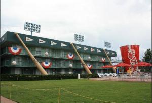 baseball area disney's all-star sports