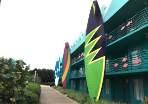 Surfboard All Star Sports resort disney world