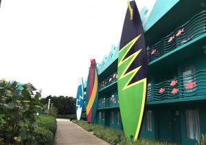 Surfboard All Star Sports resort disney world