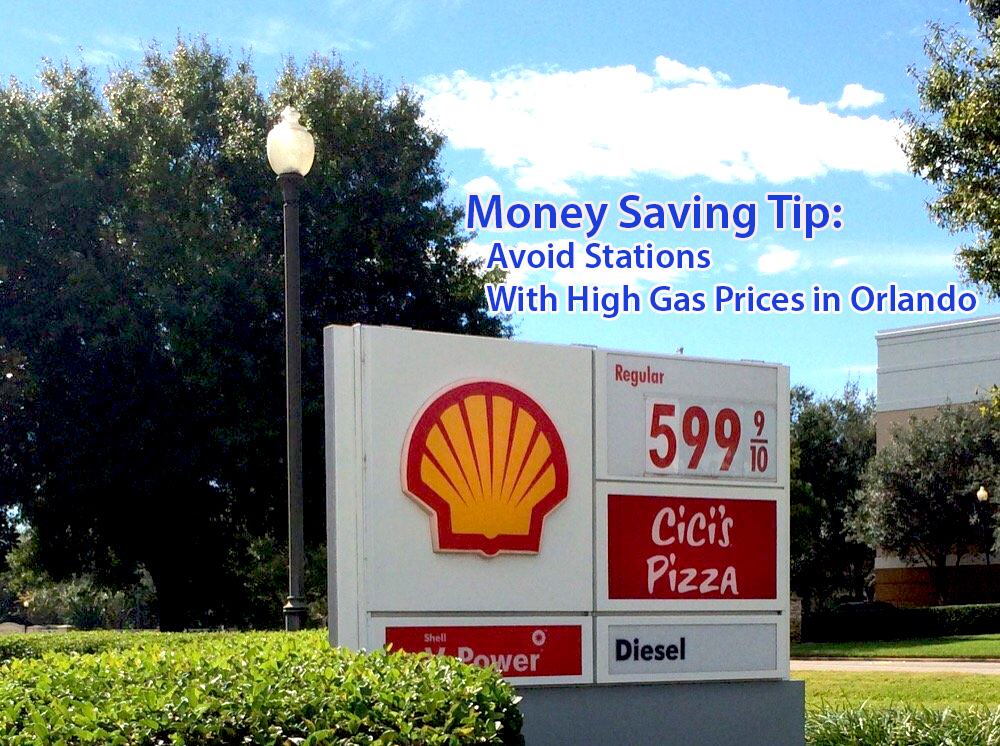 Avoid Stations With High Gas Prices In