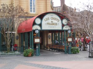 Chefs de France Disney World diabetic dining