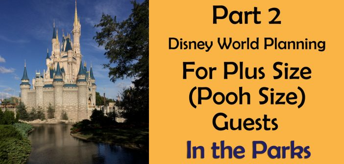 Plus size and big and tall planning at disney world