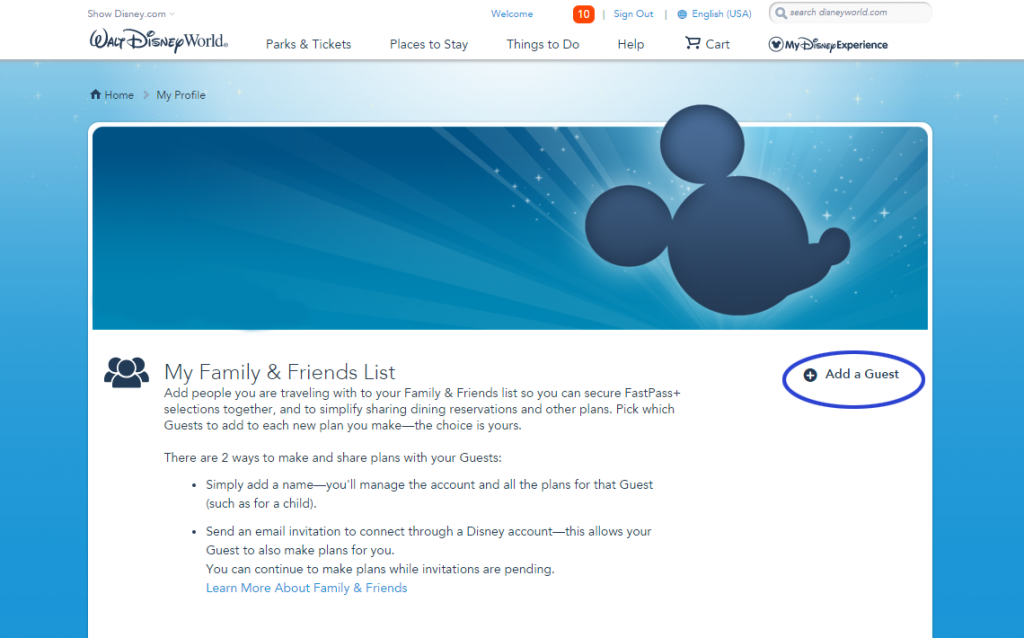 add-a-friend-and-family-member-disney-world-account