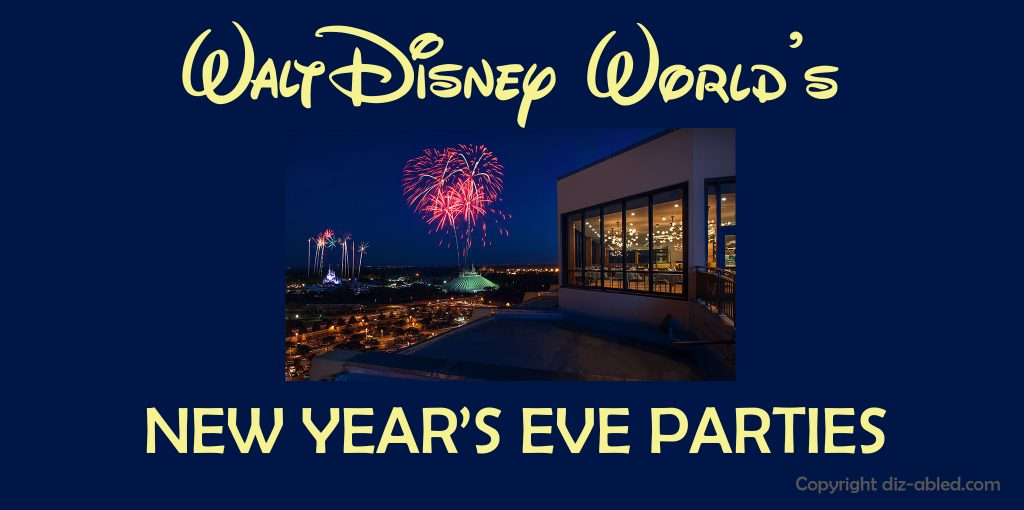 Epcot New Years Eve