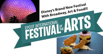 Festival of the arts at disney world