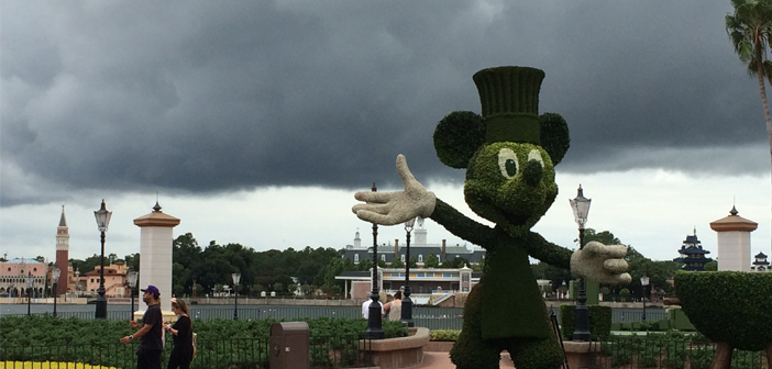 Hurricanes at Disney World
