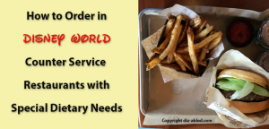 counter service quick service reservations at disney world