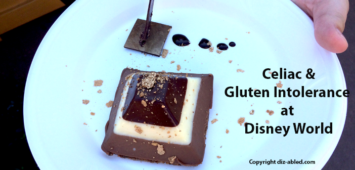 Celiac and gluten intolerance at Disney World