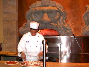 Disney world allergies pizza Epcot