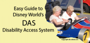 Disney World DAS Disability Access System guide