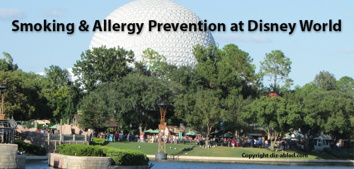 smoking and allergies at Disney World
