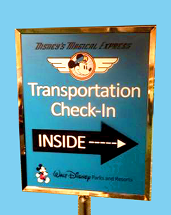 Disney Magical Express checkin