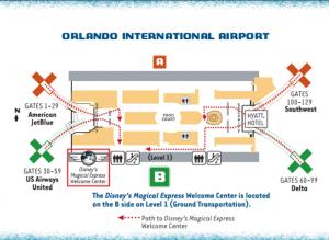 Disney's Magical Express Welcome Center
