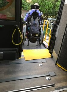 Disney's Magical Express wheelchair scooter disability