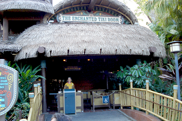 enchanted tiki room entrance
