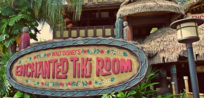 Enchanted Tiki Room Disney World Magic Kingdom Adventureland
