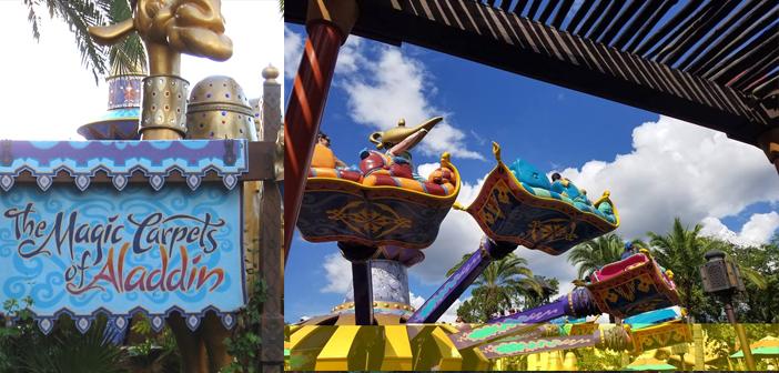 Magic Carpets of Aladdin Disney World