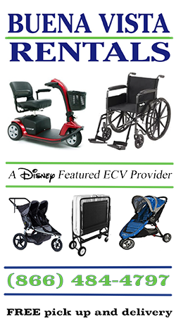 Disney World wheelchair and scooter rental