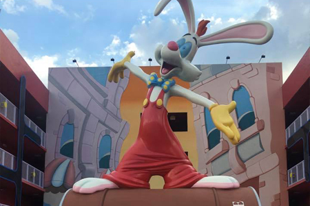 1980's Roger Rabbit at Pop Century Resort Disney World