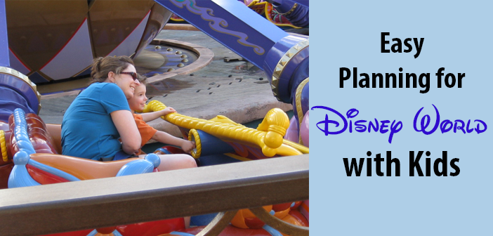 Disney world with children planning infants toddlers kids