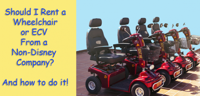 best non disney wheelchair scooter rental company
