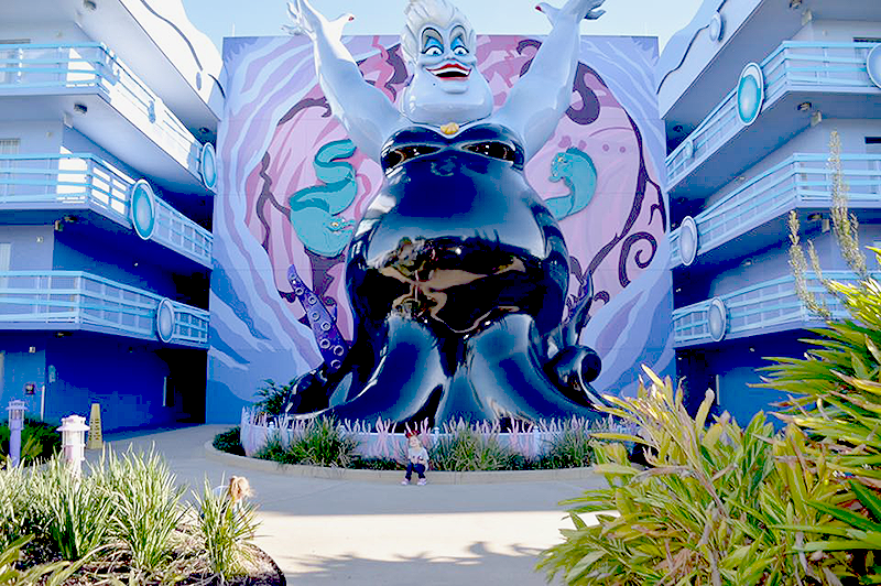 Little Mermaid Section - Ursula at Disney's Art of Animation Resort