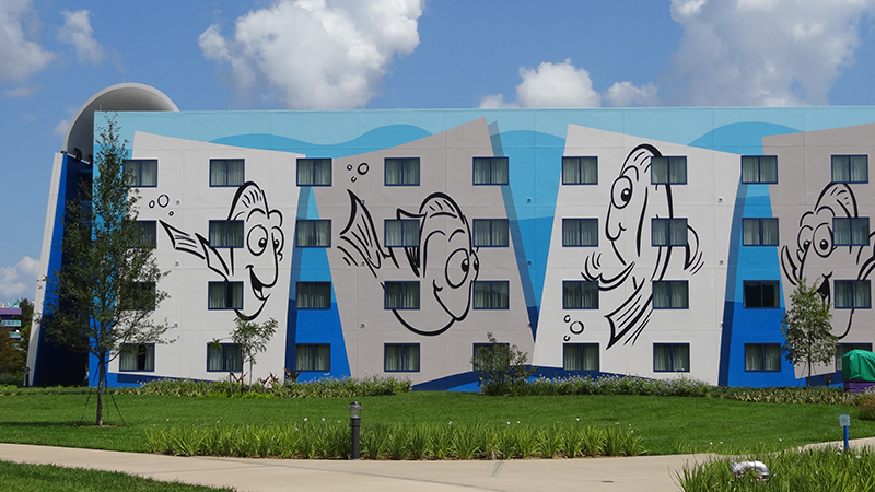 building Nemo Disney's art of animation resort