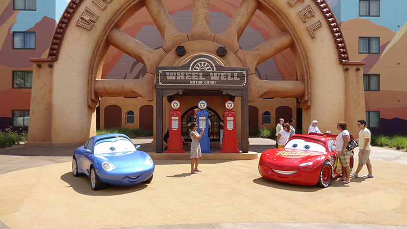 Cars at Disney's Art of Animation Resort