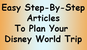 Disney World easy planning articles