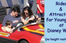 rides for children with no height restrictions at Disney World