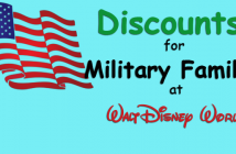 Military Discounts at Disney World